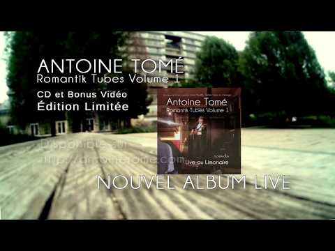 Vidéo Le nouvel album d'Antoine Tomé