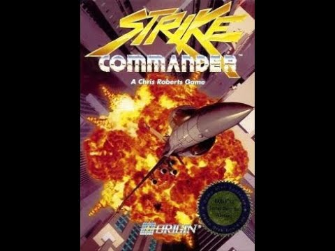 Strike Commander Intro and Mission 1 Mauritania