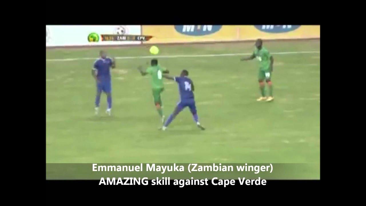 Emmanuel Mayuka AMAZING skill against Cape Verde