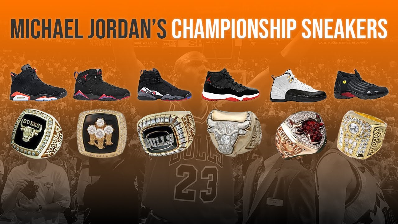 Download The Story Behind All 6 of Michael Jordan's ICONIC Championship Sneakers