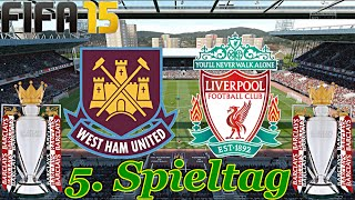 FIFA 15 - FC Liverpool gegen West Ham United (5. Spieltag) ◄LIV #12►