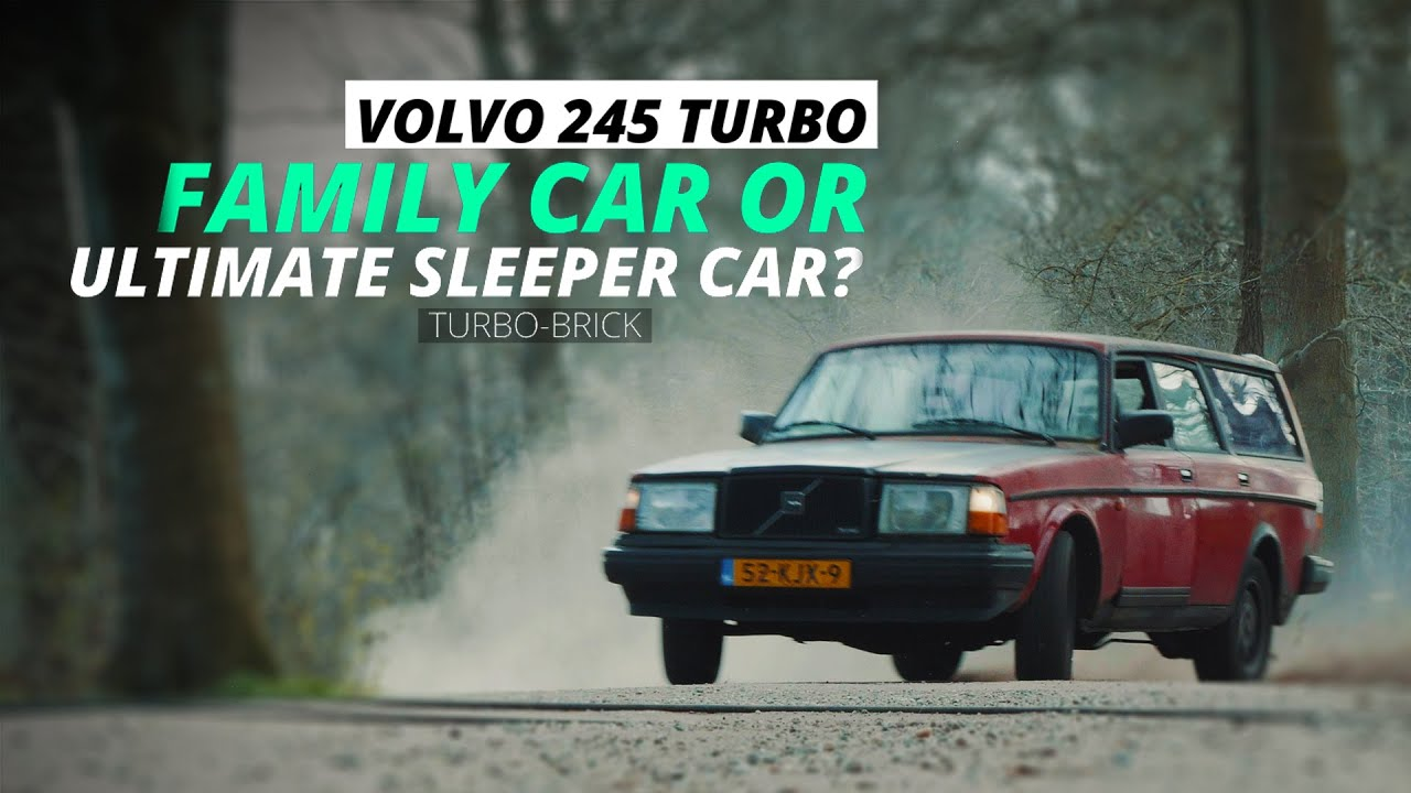 Volvo 245 TURBO | Family Car or the Ultimate Sleeper Car? | TURBOBRICK | [4K] - YouTube