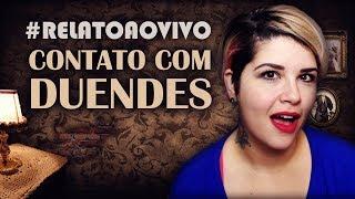 NÃO FOI SÓ A XUXA QUE VIU DUENDES ASSOMBRADOS! #RelatoAoVivo 292