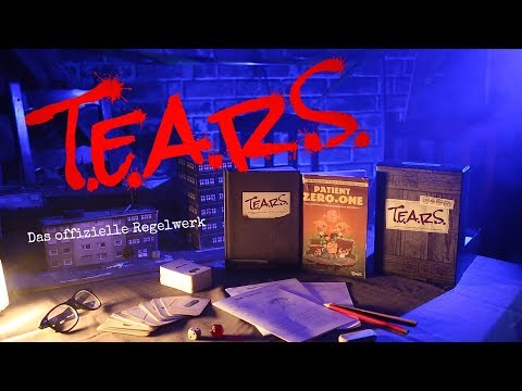 T.E.A.R.S. - Das original Rollenspiel-Regelwerk von Rocket Beans TV