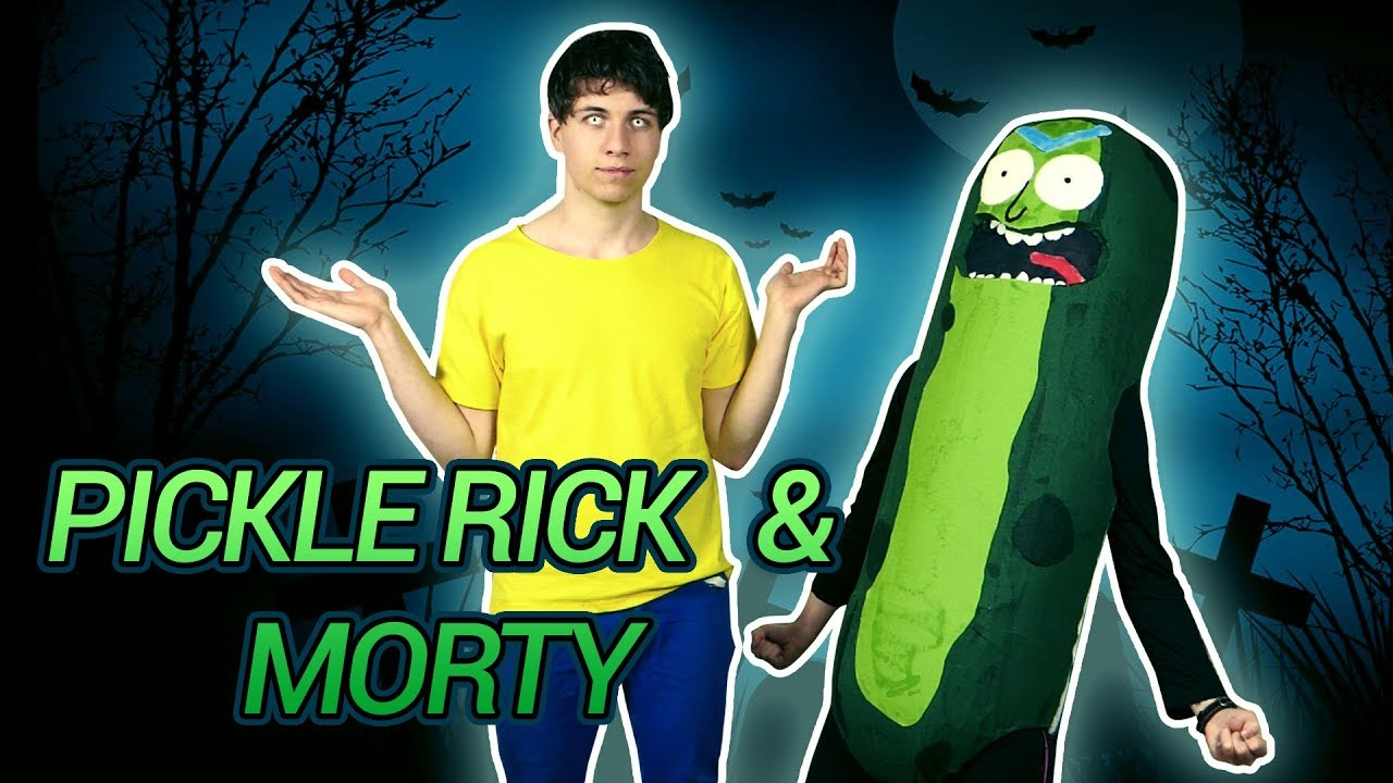 pickle rick and morty halloween costume youtube