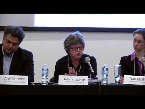 Panel 1 - Evidence of Torture in Canada and the Courts:  Immigration, Criminal, Civil (9 Jan 2013)