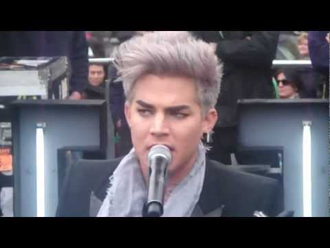 ChannelV Guerrilla Gig - Shady - Adam Lambert - Melbourne, Australia - 26th August 2012