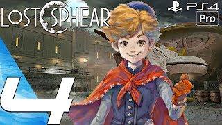Lost Sphear - Gameplay Walkthrough Part 4 - Demon Gate Boss & Vulcosuits (PS4 PRO)