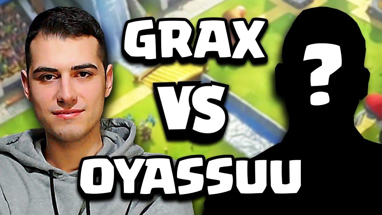 Download GRAX vs OYASSUU... MIGLIOR GIOCATORE CYCLE di CLASH ROYALE!