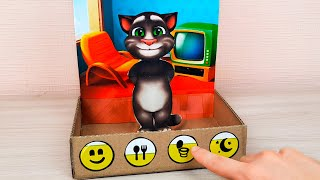 DIY Talking Tom - How to Make Cardboard Game