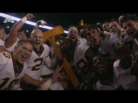 Cinematic Recap: Minnesota 37, Wisconsin 15 - Gophers Win The Axe!