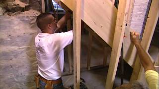 Installing A Staircase And Chair Rail - Shingle Style Home - Bob Vila Eps.1414