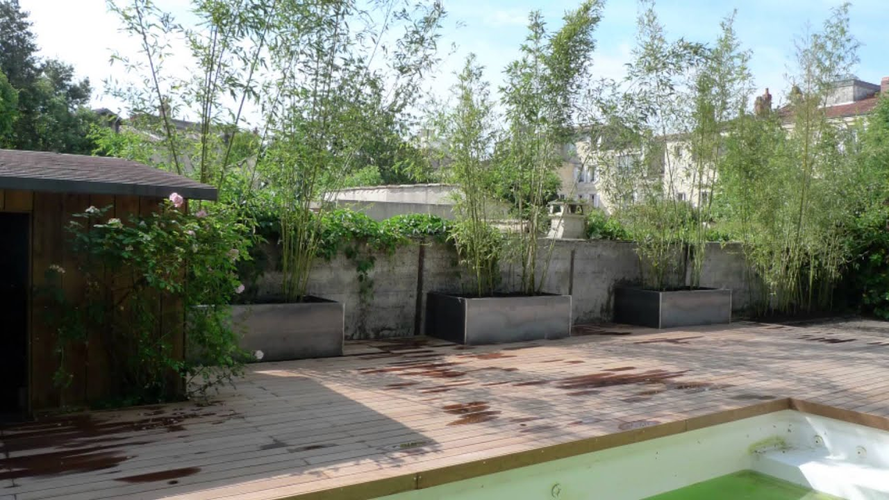 jardin ted romero paysagiste terrasse bordeaux centre 2011 youtube. Black Bedroom Furniture Sets. Home Design Ideas