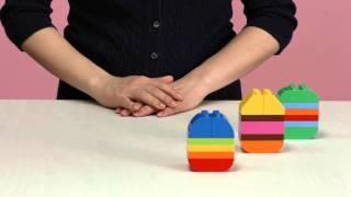 Побудуйте писанку з кубиків LEGO® DUPLO®(Нехай Ваш малюк візьме участь у приготуванні до Великодня. Побудуйте разом писанки з кубиків LEGO® DUPLO® та..., 2015-04-06T11:00:01.000Z)