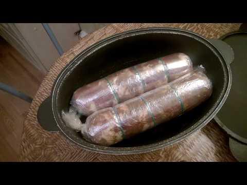 Рецепт свиного рулета в домашних условиях