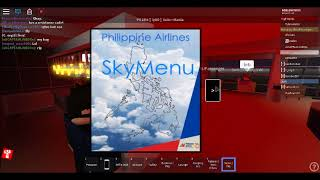 FLIGHT! Philippine airlines - Business Class (Roblox)