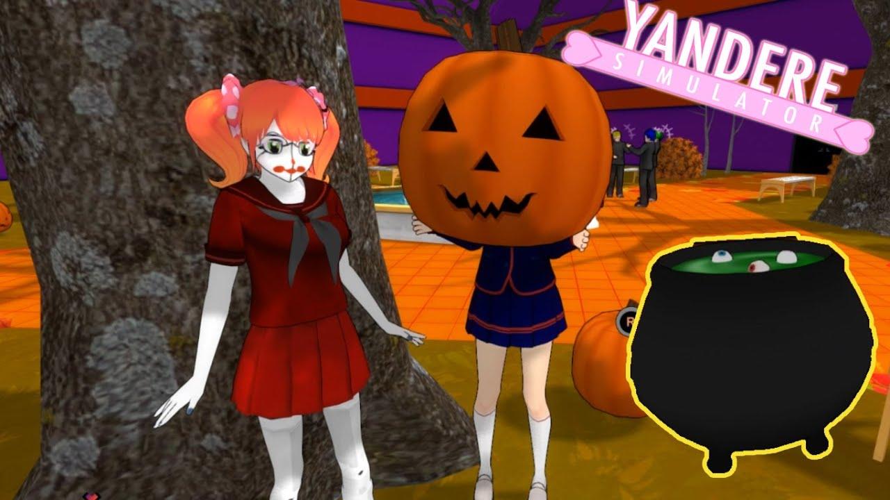 HAPPY HALLOWEEN | Yandere Simulator Halloween Mod