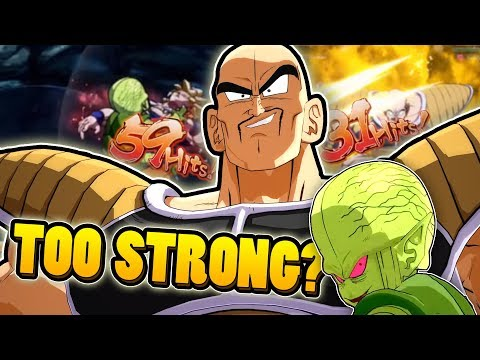 NAPPA IS THIS STRONG?! | Dragonball FighterZ Ranked Matches