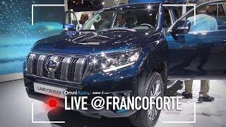 Toyota Land Cruiser, restyling del fuoristrada e CH-R sportivo | Salone di Francoforte 2017