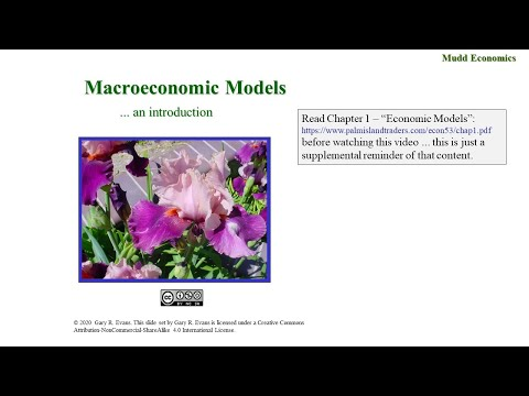 Econ 53 Spring 20 Macroeconomic Models (Video Only) February 3, 2020