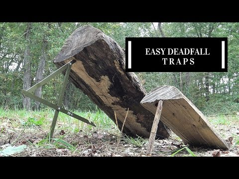The Simplest Deadfall Traps You Will Ever Use