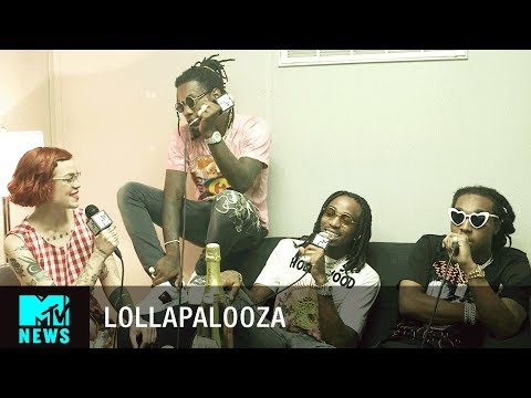 Download Youtube: Migos on 'Culture 2' Album, Lil Yachty & VMA Nominations at Lollapalooza 2017 | MTV News
