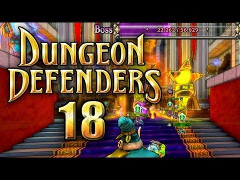Let's Play Together - Dungeon Defenders #018 [Ger] - Der Thronsaal - Versuch 2 [2/2]