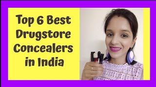 Top 6 Best Drugstore Concealers in India | For Oily to Dry Skin