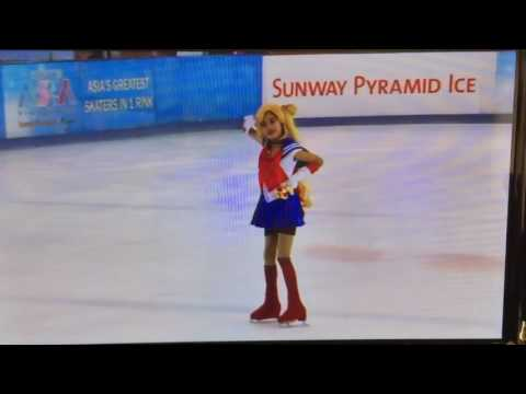 Figure ice skating Asia 2016 competition Sailor Moon