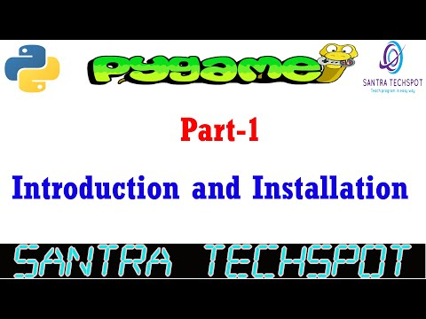 #1 | Introduction And Installation Of PyGame Module | Game Development With Python In Tamil