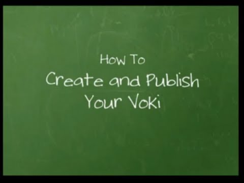 Official Voki Tutorial: How to Create and Publish Your Voki