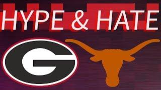 GEORGIA VS TEXAS HYPE & HATE SUGAR BOWL EDITION