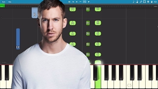 Calvin Harris Ft Future Khalid Rollin Piano Tutorial