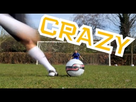 Crazy Ronaldo Free kicks - Knuckle Shooting practice