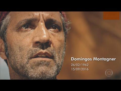 Homenagem ao ator Domingos Montagner  Steve Hanfley