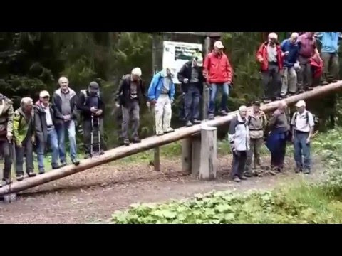 Old People Falling Off A Giant Seesaw (Original Sound)