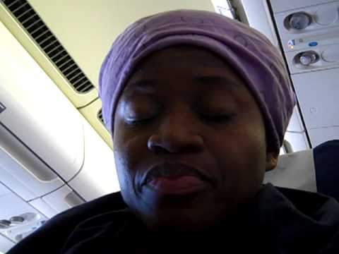 Last leg of the flight to AFrica- searching for luggage VID00007.MP4