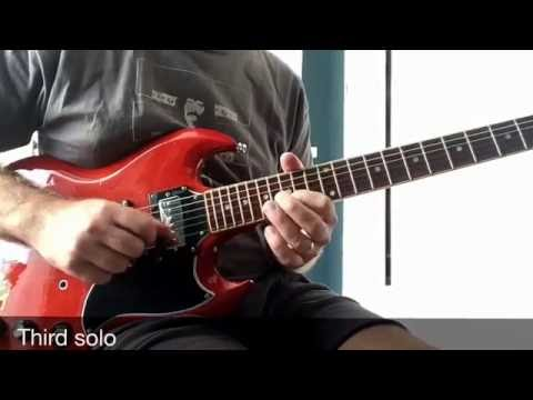 Over and Over (solos only) - Black Sabbath - Guitar lesson