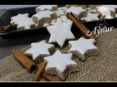 die-besten-und-leckersten-zimtsterne-#-tarcinli-yildiz-kurabiyesi