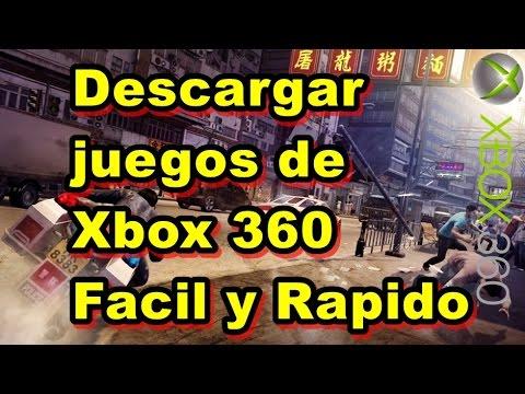Como Descargar juegos de XBOX 360 full rápido bien explicado
