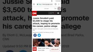 Jussie Smollett is in a WHOLE lot of trouble