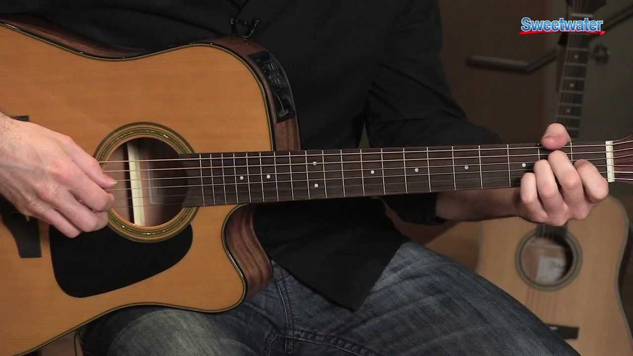 takamine gd30 ce dreadnought cutaway acoustic electric guitar demo sweetwater sound youtube. Black Bedroom Furniture Sets. Home Design Ideas