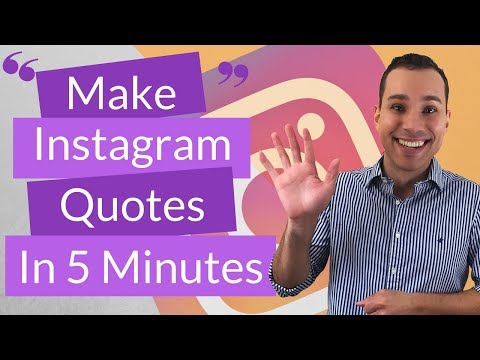 How To Create Your Own Instagram Quotes In The Next 5 Minutes For Free