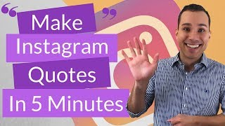 How To Create Your Own Instagram Quotes In The Next 5 Minutes For Free Youtube