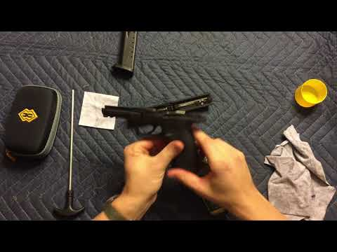 How To Break Down And Clean Smith Wesson M P 40