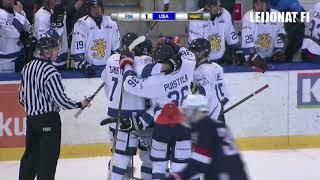Highlights FIN-USA 17.2.2018 // U17 Five nations Tournament - Kerava, Finland