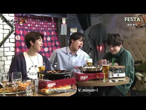 [INDO SUB] 180611 BTS (방탄소년단) 'Bangtan Hoesik - 방탄회식' #2018BTSFESTA