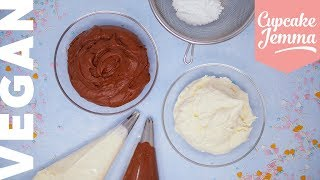 How to Make the Best VEGAN Buttercream!  Cupcake Jemma