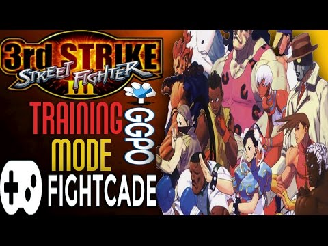 Street Fighter 3rd Strike| GGPO training mod| TUTORIAL