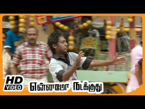 Yennamo Nadakkudhu Tamil Movie | Scenes | Vijay Vasanth Fights The Goons | Mahima Nambiar Intro